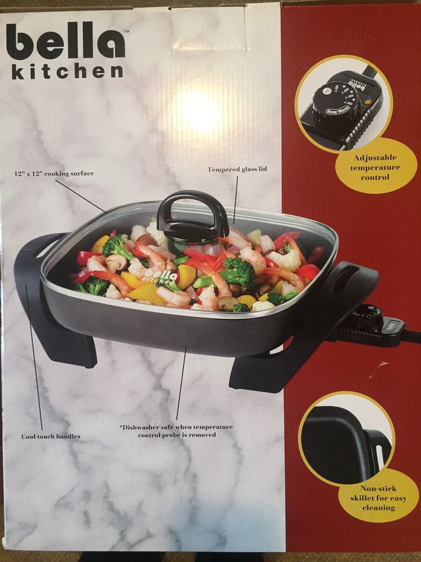 New electric skillet. Never used.