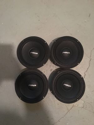 """PRV speakers 8"""" alto series. for Sale in Cleveland, OH"""