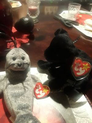 Beanie babies origanal very mint for Sale in Auburndale, FL