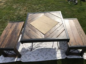 Handcrafted wooden table for Sale in Wenatchee, WA