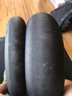 Dunlop slick racing tires for Sale in Los Angeles, CA