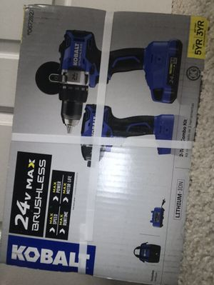 Combo Pack 24v NEVER USED Drill & Impact Wrench for Sale in Sully Station, VA