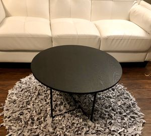 ⭐️New All black Ines round coffee Table. PICK UP BY ASHLAN AND TEMPERANCE IN CLOVIS for Sale in Clovis, CA