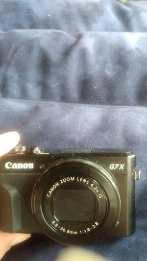 Cannon G7x camera for Sale in Auburn, WA