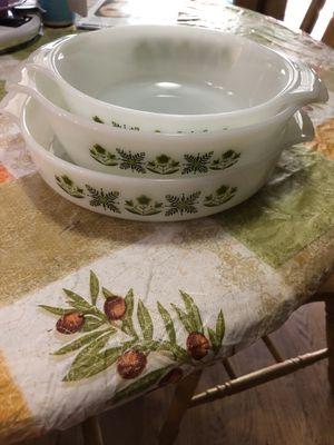 Pyrex Nesting bowls - set of 3 for Sale in Phoenix, AZ