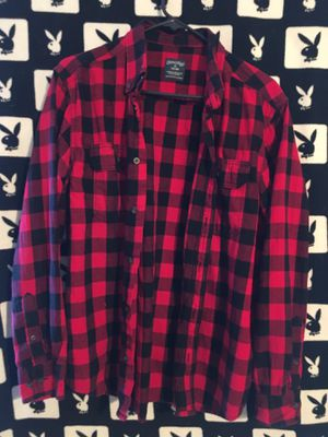Red flannel for Sale in San Bernardino, CA