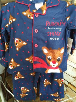 New**Rudolph The Red Nose Reindeer Christmas Jammies for Sale in Moreno Valley, CA