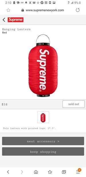 Supreme lantern for Sale in Valley Stream, NY