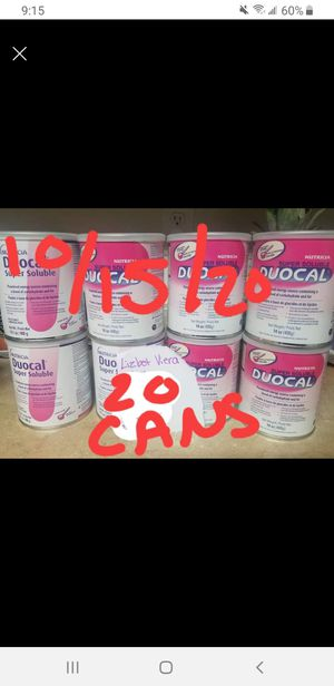 20 cans duocal exp 2/2021 and later for Sale in Manassas, VA