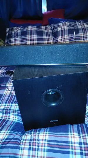 Vizio 29 inch soundbar 100 watts pioneer subwoofer for Sale in Tampa, FL