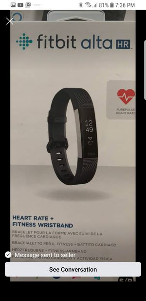 Fitbit alta hr for Sale in Saint Paul, MN