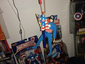 Marvel Captain America action figures from 60s to 70s for Sale in Portland, OR
