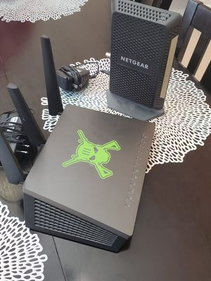 Netgear xfinity compatible high speed gaming nighthawk router/modem combo for Sale in Cape Coral, FL