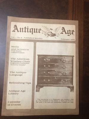 Antique Age 1979 15 page catalog, Merio & Scirocco true master cabinet makers! for Sale in Norfolk, VA