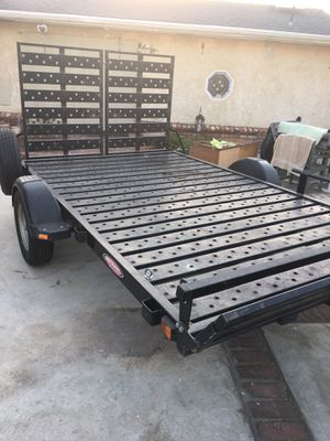 10x6 flat bed trailer perfect for ATV RZR ATC DIRT BIKES SXS UTV CAN AM YXZ YAMAHA for Sale in Whittier, CA