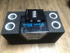 Subwoofer/amp for Sale in Mukilteo, WA
