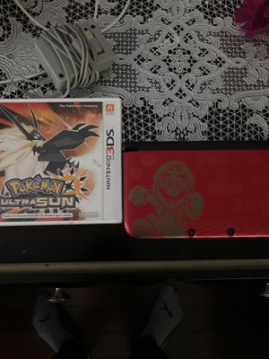 Nintendo 3ds XL With Pokémon Ultra Sun *Charger Included* for Sale in Elk Grove Village, IL