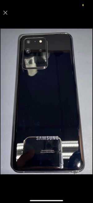 Samsung galaxy s20 ultra 5G 128gb for Sale in Upland, CA