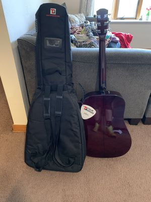 Guitar and Guitar Bag for Sale in West Mifflin, PA
