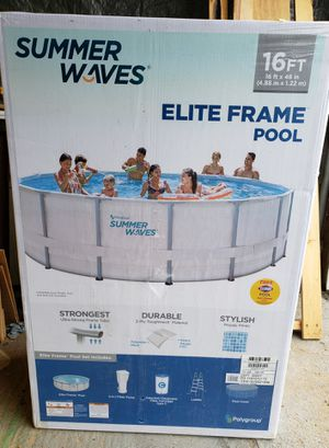 """New 16' x 48"""" Summer Waves pool for Sale in Lake Stevens, WA"""