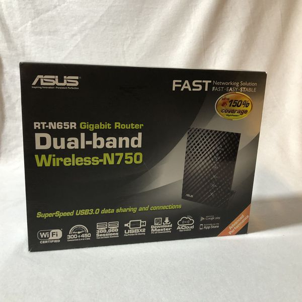 Asus Rt-n65r gaming gigabit Router dual band extremely fast WiFi