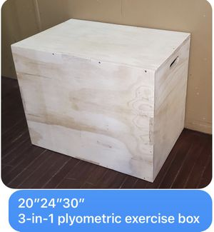 Plyometric exercise box for Sale in Midland, TX