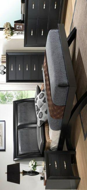 $39 Down Payment Best DEAL 🍾 Galinda Black Arch Platform Bedroom Set for Sale in Jessup, MD