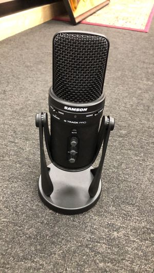 Samson G Track Pro Professional USB Microphone w/ Audio Interface for Sale in Seymour, CT
