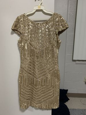 Gold sequin dress for Sale in Miami, FL