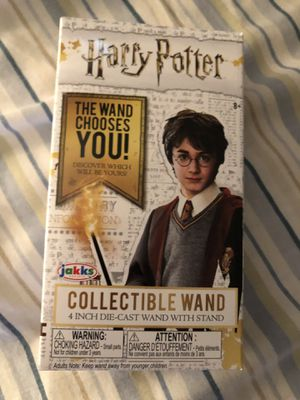 Harry Potter collectible wand for Sale in Mount Pleasant, WI
