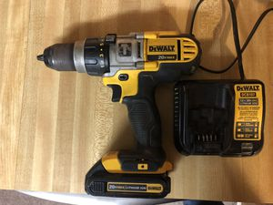 Dewalt 20v hammer drill with 1 batt and charger 120 firm in north Lakeland works great for Sale in Lakeland, FL