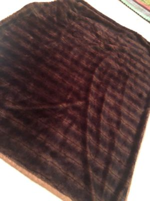 Fur throw blanket for Sale in Anaheim, CA