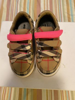 Burberry shoes for girls Size 24 for Sale in Queens, NY