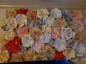 Paper flower wall for Sale in Rockville, MD