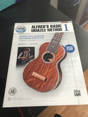 Alfreds basic ukulele method for Sale in San Leandro, CA
