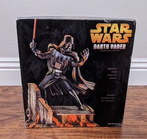 "17"" Star Wars Darth Vader Cold Cast Statue (rare vintage collectible) NIB for Sale in Irvine, CA"