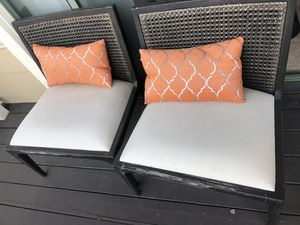 Outdoor Chairs (Two) for Sale in San Mateo, CA