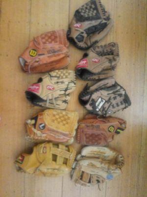Baseball softball glove mitt $15 each for Sale in Oakland, CA