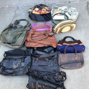 Ladies Bags 14 $60 for Sale in Carson, CA