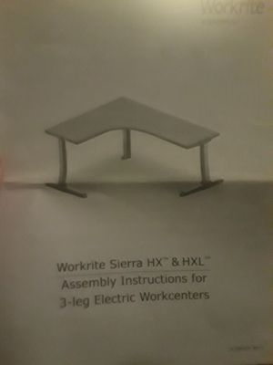 Workright electric height adjusting desk for Sale in Roscommon, MI