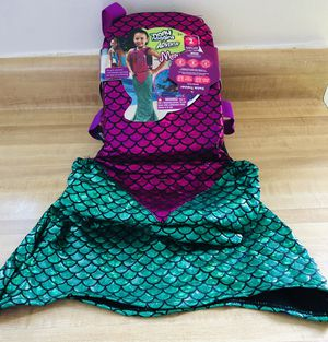 Brand new Mermaid Dress Up Swim Trainer Life Vest Swim Level 2 by Narly Noggins Age 3+ size Medium/Large 33-55 lbs. (pick up only) for Sale in Springfield, VA