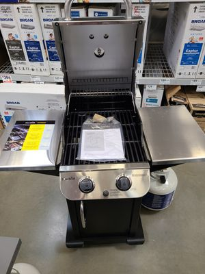 NEW Never Used Char-Broil 2 Burner Performance Liquid Propane BBQ Grill Stanless Steel/Black Collapses For Easy Transport. Excellent Condition for Sale in Concord, CA