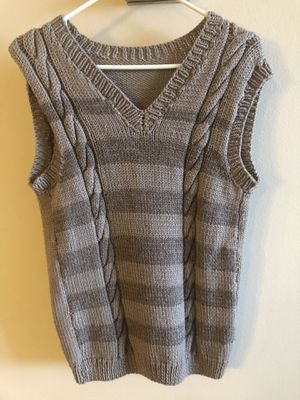 Hand-knit Sweater Vest for Sale in Washington, DC