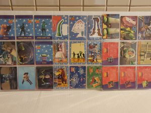 Disney origjnal Toy Story trading cards for Sale in Los Angeles, CA
