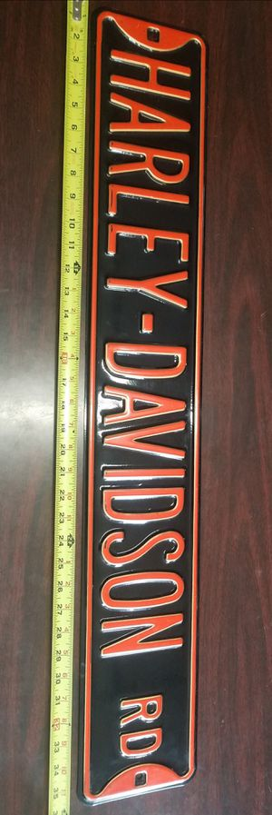 Heavy duty Harley Davidson Street Sign for Sale in Morton Grove, IL