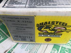 GUN NAILS...HALSTEEL 3 1/4 in X .131 in for Sale in Corona, CA