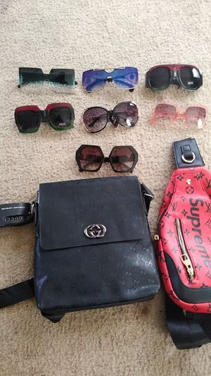 LADIES SUNGLASSES. GUCCI, CHANEL. Shoulder bags CHANEL AND LOUIS for Sale in Atlanta, GA