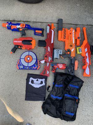 Nerf Gun Lot for Sale in Santa Ana, CA