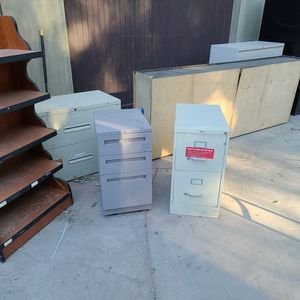 Free 5 File Cabinets To Pick Up In ANAHEIM for Sale in Orange, CA