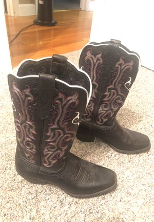 Justin Boots Size 8 like new for Sale in Rustburg, VA